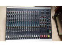 Soundcraft 200BVE 16Track Vintage Analogue Mixing Desk