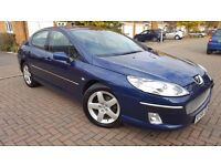 2006 peugeot 407 **AUTO ** fully loaded ** 3 MONTHS WARRANTY ,leather , parking sensors ,S/H