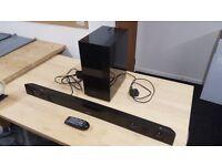 Samsung Bluetooth Surround Sound System and Bluetooth Sub Woofer