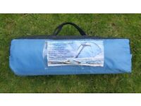 Proactive 3 people tent in good used condition!all parts in bag! ! can deliver or post!