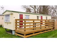 Holiday mobile chalet at Priory Hill Holiday park to rent by the sea, just 50 mile from London