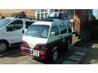 Used, Daihatsu hijet micro van camper day van for sale  York, North Yorkshire