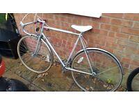 Road bike - vintage style frame