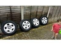 "Alloy wheels 16 "" to fit audi, vw, seat, skoda"