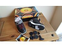 X2 Heelys size 8. Boys or girls style. Still in box with all tools. Worn twice.