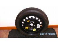 Vauxhall Mokka 2012>16 Space saver wheel