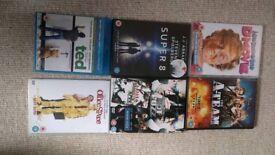 Six DVDs
