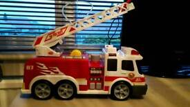 Large fire engine