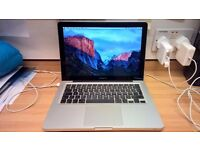 Macbook Pro i7 Apple mac laptop 2011 - 2012 Intel Core i7 processor 4gb or 16gb ram 500gb hard drive