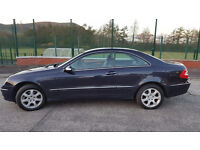 MERCEDES BENZ CLK 240 YEAR 2003 - AUTOMATIC - LOW MILES - MINT CONDITION