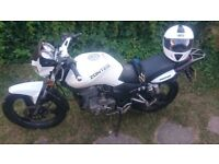 ZONTES PANTHER 2014 125cc good condition with new accessories (helmet,chain,case for phone)