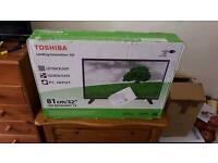 "New & Sealed Toshiba 32"" Tv"