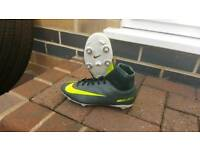 Nike CR7 Football Boots Size 4