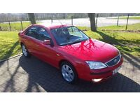 top of the ranage mondeo ghia x with 60000 miles from new full service history & 12 months mot
