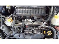 Subaru 2.0 Turbo Engine 2005