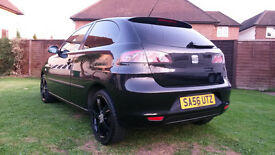 **Great runner Seat Ibiza 1.4 16V Sport + SatNav**
