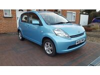 DAIHATSU SIRION,AUTOMATIC,ONLY30,000 MILES,GENUINE LOW MILES,FULL HISTORY ,2 KEYS,1 OWNER ONLY SENSO