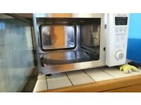 Daewoo combination digital microwave and grill