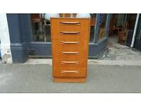 1960s g plan danish style chest of drawers