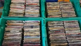 250 VINYL 45 SINGLES FROM THE 70S AND 80S ALL IN VERY GOOD CONDITION