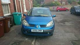 Breaking Renault grand scenic 2005 1.5 dci 6 speed