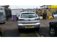 SEAT IBIZA FR COMPLETE TAILGATE IN SILVER LS7Y