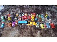 Disney Cars, 37 cars in bundle