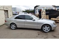 Mercedes S Class, £1900 ONO full leather, sat nav