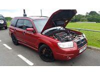 Subaru Forester 2.5 turbo awd 300bhp sti impreza wrx Tdi vxr st2 st3 4x4 skyline evo Dci