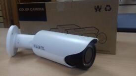 New 2MP IR Bullet IP Camera with Vari-Focal Lens. With 18pc IR LED