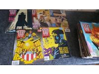 Complete year 2000ad programmes 1990