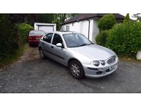ROVER 25 NOW GONE, BUT I DO HAVE A 04/04 SKODA FABIA 1.4 HATCHBACK ARRIVING MONDAY 12TH MOT 2018