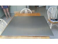 John Lewis Stainless STeel splashback 90 cm width x 75 cm height