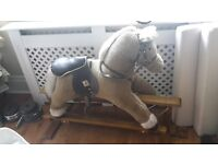 Rocking horse for child in good useable condition.
