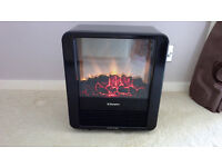 DIMPLEX 1.5KW FLAME EFFECT ELECTRIC MICROFIRE NEW UNUSED STILL IN BOX
