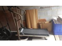 Crosstrainer and Manual threadmill