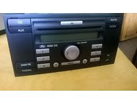Ford 6000CD Car Stereo Radio CD Player Transit Focus C Max Mondeo