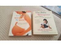 Baby books x 2