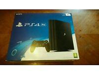 Sony PlayStation 4 Pro ‑ 1 TB ‑ Jet Black