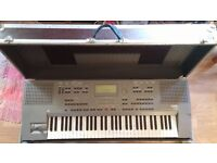 KORG iS40 keyboard/workstation with stand and flight case