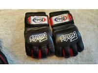 Fairtex grappling gloves