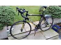 Carrera TDF road bike in very good condition only 12 months old large