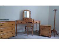 Marks and Spencer bedroom furniture.