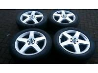 MERCEDES BENZ ALLOY WHEELS 19 INCH 5X112 VITO VANEO ML S CLS VW GOLF PASSAT GL G AUDI A6 AMG