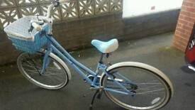 Pendleton Halford bike girls with basket