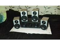 Black 5.1 RUARK UK Speakers