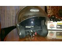 Motorcycle helmet jacket gloves