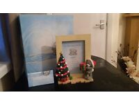 "Me to You ""Festive Memories"" 8x4"" Resin Photo Frame Summer 2010 Collection"