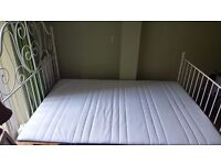 As-new double bed for sale