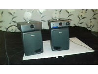 HITACHI+SPEAKERS STEREO